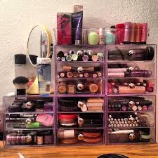 hair and makeup storage 99 best makeup organization images on organizers