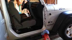 how to take doors a jeep wrangler jeep wrangler doors seized how to free doors remove part 2