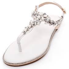 amazon com shesole womens flat wedding shoes gladiator sandals