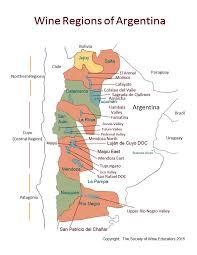 Napa Valley Winery Map Swe Wine Map 2015 U2013 Argentina U2013 Wine Wit And Wisdom