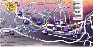 map with attractions gatlinburg maps gatlinburg attractions things to do in