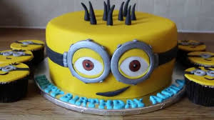 minion birthday cake youtube