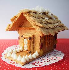 Cracker House The Tiny Funnel Healthy Graham Cracker Gingerbread Style Houses