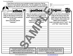 ethos pathos logos examples creative teaching ideas for