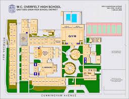 Berkeley Campus Map Yerba Buena High Campus Map Image Gallery Hcpr