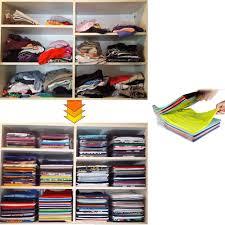 t shirt organizer 1 layer anti wrinkle neat clothes storage holder rack t shirt