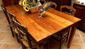 industrial glass dining table wood plank dining table wood plank table top wood plank dining table