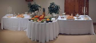 wedding reception food table setups brief description of