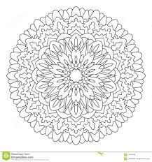 mandala for painting and coloring stock photo image 61425948