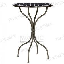 Iron Bistro Table Impressive Wrought Iron Bistro Table Metal And Ceramic