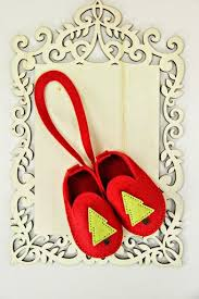paperyrey ink booties baby bootie ornament by erin lincoln for