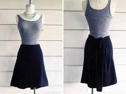 Draped Skirt Tutorial 10 Stylish No Sew Skirts Brit Co