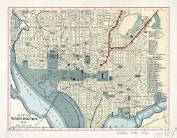 Washington Dc On Map Large Detailed Old Map Of Washington D C 1893 Washington D C