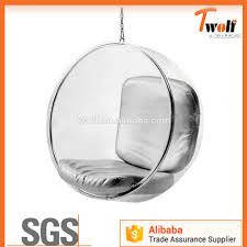 Swinging Ball Chair Clear Hanging Bubble Chair Clear Hanging Bubble Chair Suppliers