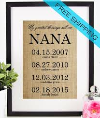 personalized mothers day gifts personalized s day gifts 25 unique gifts for nana ideas on