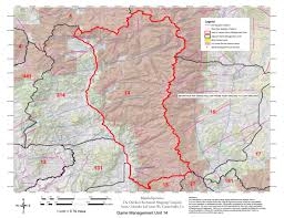 Elk Population Map Colorado Gmu 14 Hunting Map Map The Xperience Avenza Maps
