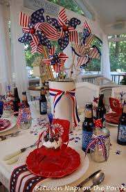 Fourth Of July Door Decorations Make An Easy Centerpiece Or Table Decoration The 4th Of July