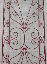 wrought iron heart garden flower trellis