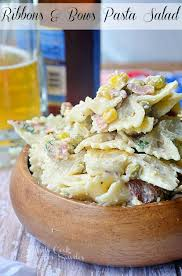 Pasta Salad Mayo by Ribbons U0026 Bows Pasta Salad Will Cook For Smiles