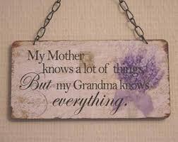 Grandparent Plaques Grandma Plaque Etsy