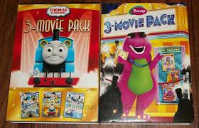 thomas u0026 friends barney movies 3 packs review
