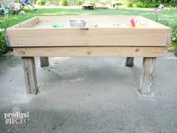 Sand Table Ideas Backyard Diy Style 1 Sand Table Prodigal Pieces