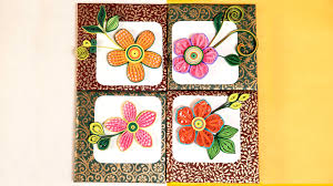 wall frames flowers diy paper quilling designs diy room decor