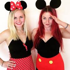 Buy Glam Red Minnie Costume by 20 Creative Ways To Rock A Minnie Mouse Costume This Halloween