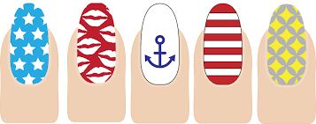 rivka u0027s renditions more nail designs nail design templates nails