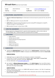 Best Qa Resume by Mirsad Alam Qa Qc Resume