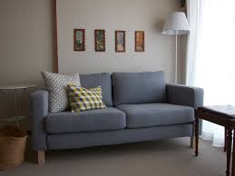 furniture comfortable large sofas design ideas with karlstad sofa