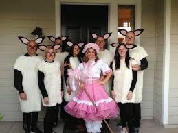 sheep costume pancakes glue guns diy costume 3 months later