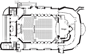 Concert Hall Floor Plan Royal Hall Harrogate Convention Centre