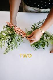 how to garland centerpiece a practical wedding a practical