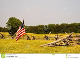 Civil War Flags For Sale Civil War Battlefield And Flag Stock Photo Image 2504564