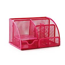Office Desk Tidy Leorx Office Desk Tidy Organiser Mesh Desk Supplies Organizer