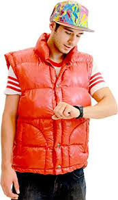 amazon com back to the future marty mcfly costume set clothing