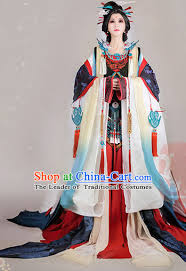 Traditional Chinese Imperial Court Dress Asian Clothing National