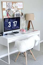 Glass Desk With Storage Desk Contemporary Design Makeup Station Micke Desk By Ikea Cool