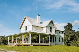 wrap around porch plans plan 77626fb exclusive 3 bed farmhouse plan with wrap around