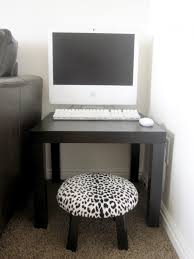 Simple Wooden Office Table Office Desk For Black Color And Wooden Material And Unique Simple