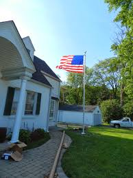 Flags And Flagpoles How To Install A Flagpole Proper Way To Assemble Flagpole Pulley