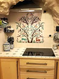 backsplash tile mural kitchen tile murals tile art studio ceramic