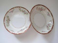 vintage sts china salad luncheon plates set of 4 by apotofbasil