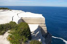 wedding cake rock wedding cake rock royal national park nsw on section of the