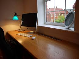 Long Gaming Desk by Office Lighting Fixtures Guide Home Interior Design