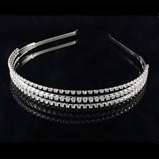 silver headband buy sparking rhinestone pearl headband silver and get free
