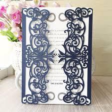 online get cheap royal blue wedding invitations aliexpress com