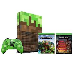 xbox one consoles and bundles xbox buy xbox one s 1tb minecraft limited edition console bundle at