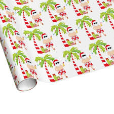 tropical wrapping paper tropical christmas wrapping paper festival collections